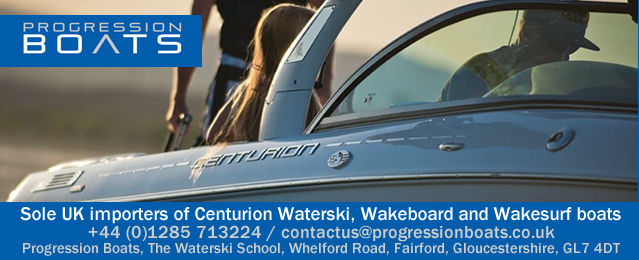 Progression Boats - Sole UK importers of Centurion Waterski, Wakeboard and Wakesurf boats